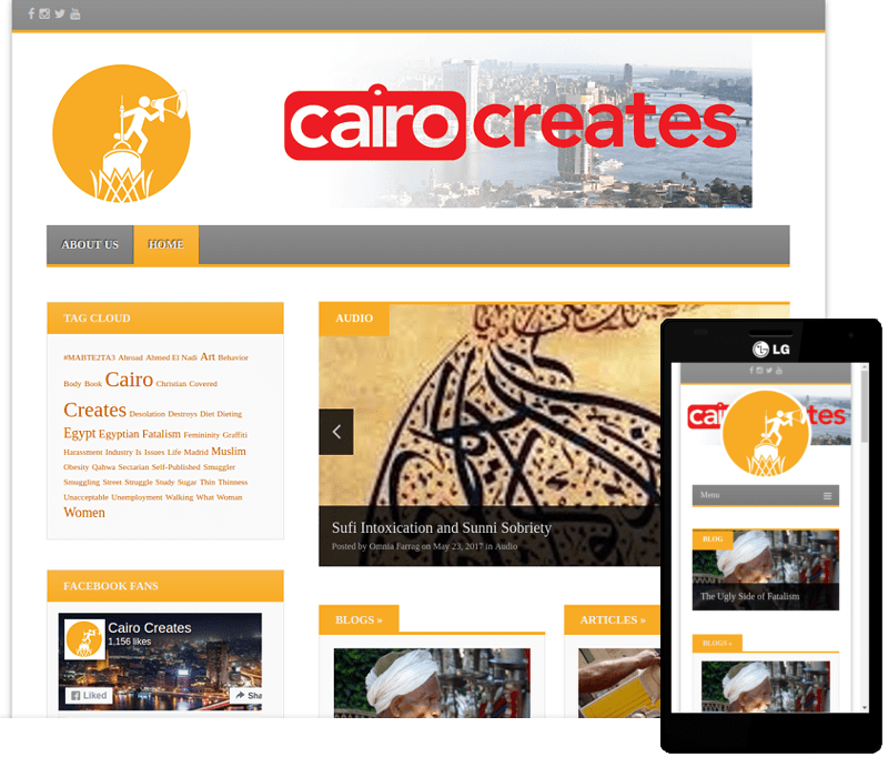 Cairo Creates Screenshot