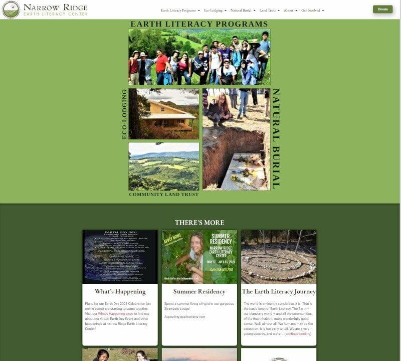 Narrow Ridge Earth Literacy Center