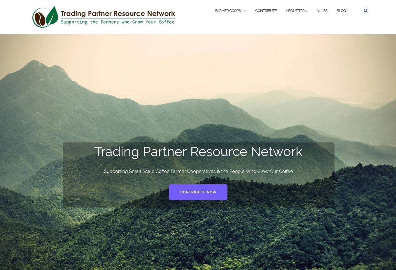 Trading Partner Resource Network Screenshot